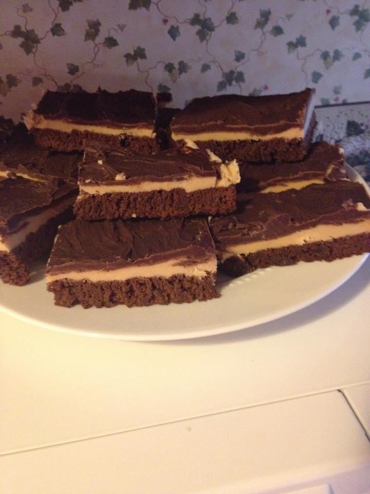 chew-this-buckeye-chocolate-brownies