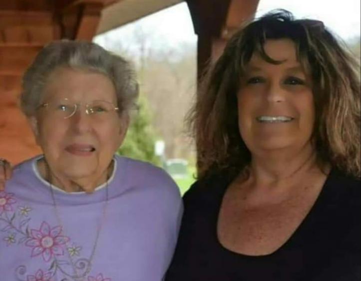 Mona Brown and Inga Neal