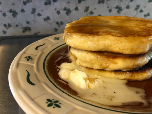 Lumpy Batter Pancakes