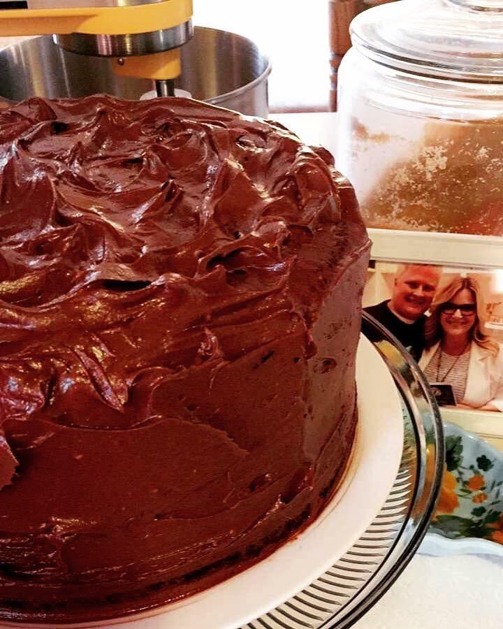 Trisha's Chocolate Fudge Cake